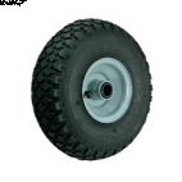 Luftgummi hjul med stål nav