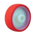Polyurethan hjul med nylon kerne