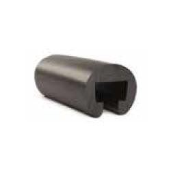 Gelænderliste 25x15mm Sort