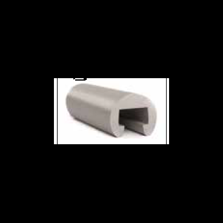 Gelænderliste 25x15mm Grå
