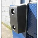 Gummibuffer 450x250x150mm for læsserampe