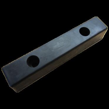 Gummibuffer 400x80x72mm