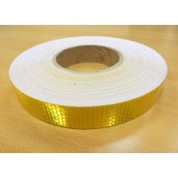 Reflekstape Guld/Gul 25mm
