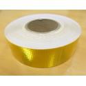 Reflakstape Guld/Gul 50mm