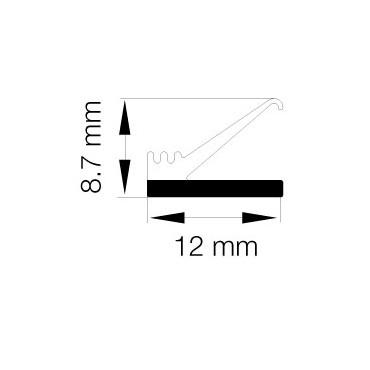 Primo 0710 Grå - 25m Rulle