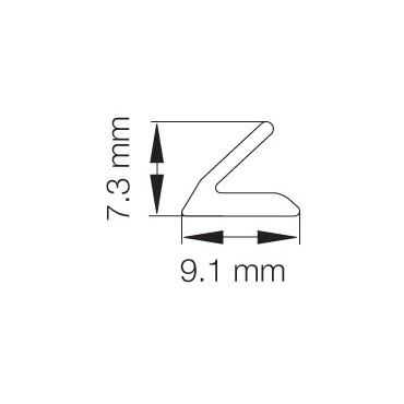 Primo 1345 Grå - 25m Rulle