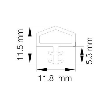 Primo 0825 Transparent - 25m Rulle