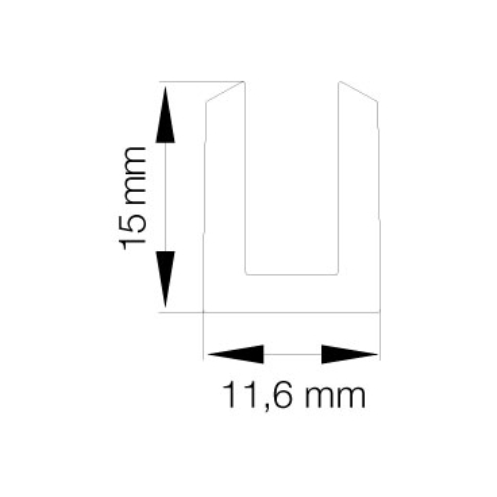 Primo 0559 Klar - 25m Rulle