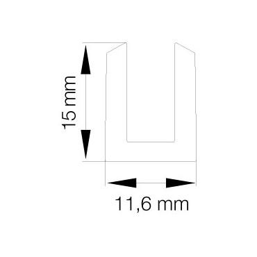 Primo 0559 Klar til 6mm 25 m. rulle