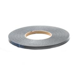 Glasbånd 9x2mm Sort med tape