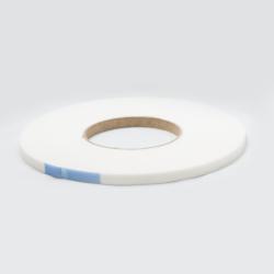 Glasbånd 9x2mm Hvid med tape