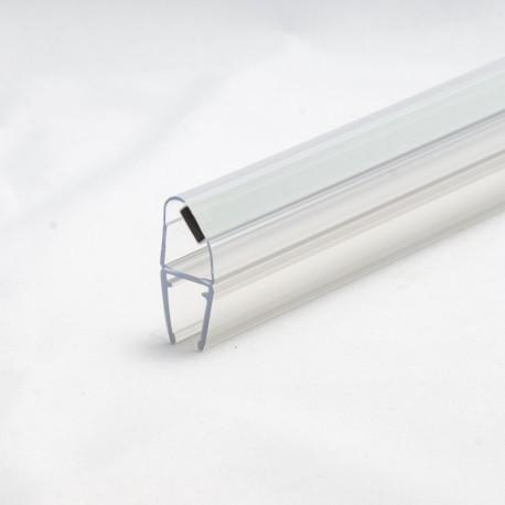 Bruseprofil 45° N/S magnetisk dørprofil