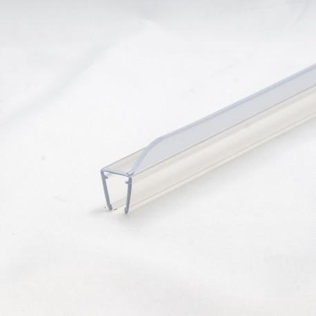 Bruseprofil 350 23mm med toptætning