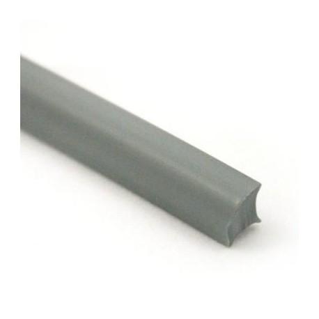 Låsekile PVC 9.5mm Sølv/Grå