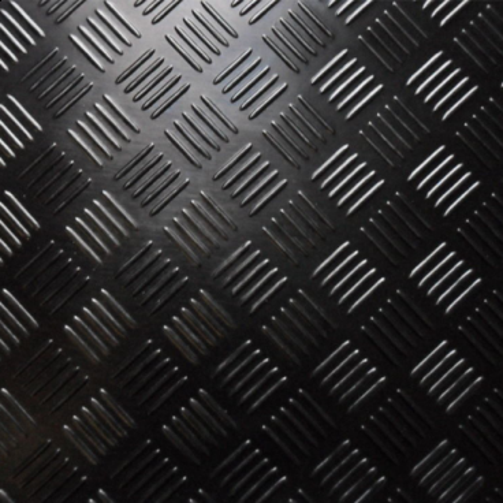 3mm Oliebestandig Dørk Gummimåtte 1400mm