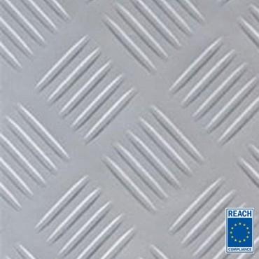 3mm Premium Grå Dørk gummimåtte 1400mm