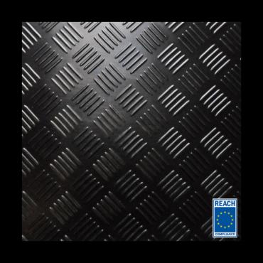 3mm Premium Dørk gummimåtte 1600mm