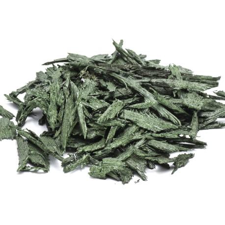Gummiflis Grøn 1-7cm