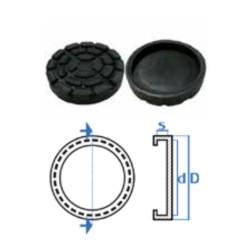 Liftgummi rund Ø150mm