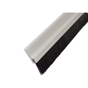 Børsteliste - 1 METER - 35/15mm - PLAST