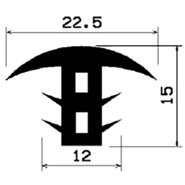 T-Profil 6mm