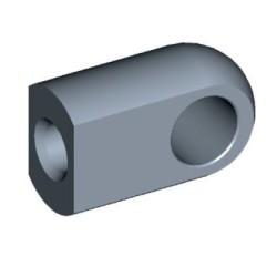 Øje Ø10,1mm Stål