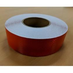 Reflekstape Rød 50mm