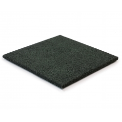 Gummifliser Grøn 20mm 500x500mm