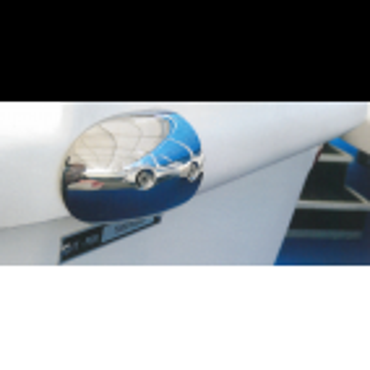 Fenderliste RADIAL 65mm Hvid