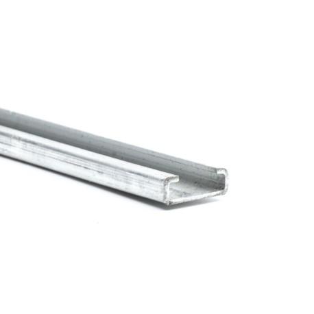Aluminiums skinne 25/22mm