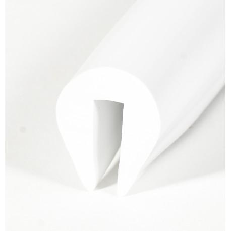 PVC40W Fenderliste Hvid