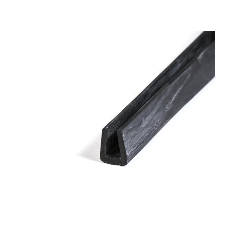 u profil 6mm gummi epdm beskyt dine kanter med en uprofil. Black Bedroom Furniture Sets. Home Design Ideas