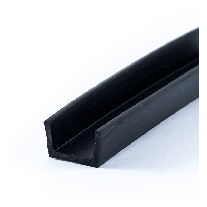 u profil 12mm gummi epdm beskyt dine kanter med en uprofil. Black Bedroom Furniture Sets. Home Design Ideas