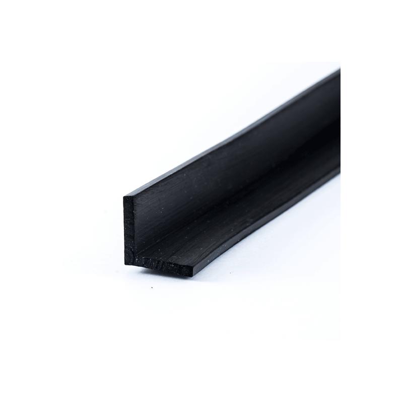 l profil 15x15x2mm i sort epdm gummi k b din l profil hos os. Black Bedroom Furniture Sets. Home Design Ideas