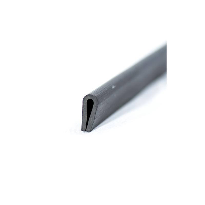 u profil 3mm afrundet epdm beskyt dine kanter med en uprofil. Black Bedroom Furniture Sets. Home Design Ideas