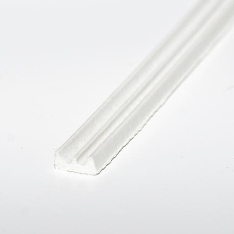Crown Strip 4x9mm White