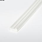 Crown Strip 4x9mm White
