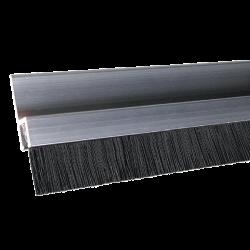 Børsteliste - 3 meter - 40/24mm - aluminium
